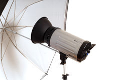 Photographic monolight for portraits Royalty Free Stock Photos