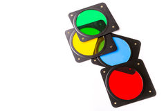 Photographic multicolored filters Stock Photo