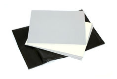 Photographic paper Stock Photo