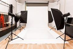 Photographic studio Royalty Free Stock Photo