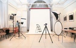 Photographic studio Royalty Free Stock Photography