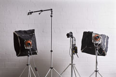 Photographic studio Royalty Free Stock Photography