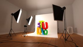 Photographic Studio Stock Photography