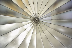 Photographic studio reflective umbrella. Equipment for professional photography Stock Photography