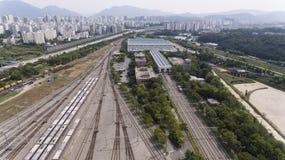 Photographie aérienne Image libre de droits