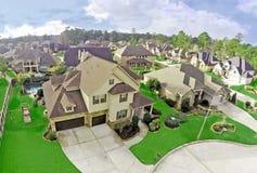 Photographie aérienne de Real Estate photos libres de droits