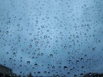 Photographie abstraite de la pluie Photographie stock libre de droits