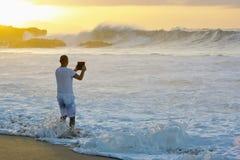 Photographie avec l'ipad Photographie stock libre de droits