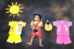 Photographie conceptuelle d'enfant Photos libres de droits
