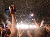 Photographie de concert Images libres de droits