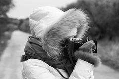 Photographie de femme Photographie stock