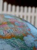 Photographie de globe comportant l'Amérique Photographie stock libre de droits