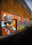 Photographie de graffiti Photos stock