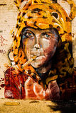 Photographie de graffiti Photos stock
