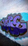 Photographie de graffiti Photos libres de droits