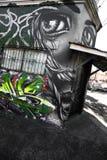 Photographie de graffiti Image libre de droits