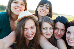 Photographie de groupe Photo stock