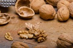 Photographie de produit de noix Photos stock