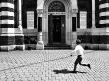 Photographie de rue en Brasov, Roumanie images stock