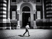 Photographie de rue en Brasov, Roumanie image libre de droits