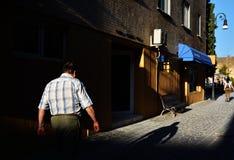 Photographie de rue en Brasov, Roumanie photos libres de droits