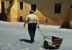 Photographie de rue en Brasov, Roumanie photos stock