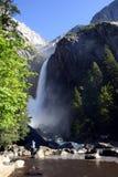 Photographie des cascades à écriture ligne par ligne Photos libres de droits