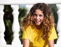 Photographie en gros plan de Valeria, âgée 10 photo stock