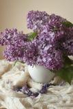 Photographie lilas de symbole d'améthyste Photo stock