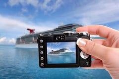 Photographie tropicale de bateau Images stock