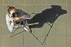 Photographing. Stock Images
