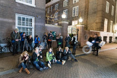 Photographing the Amsterdam lights festival Royalty Free Stock Photos