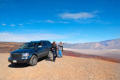Photographing Death Valley. Death Valley in California, USA sprawls across 3.4 million acres Stock Photos