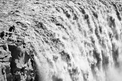 Photographing Detifoss waterfall Stock Images