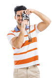 Photographing Royalty Free Stock Photography