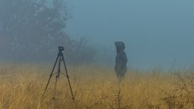 Photographing the mist Royalty Free Stock Photography