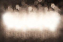 Photographische Abstraktion auf einem Hintergrund des Brauns Stockbild