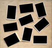 Photographische Rahmen der Weinlese Stockfoto