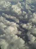 Photographs of the sky. You can see the beautiful clouds in the sky. I do not remember exactly where I took these photographs royalty free stock photography