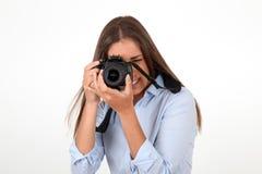 Photography addict Stock Image