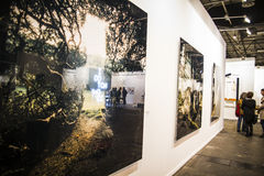 Photography.Begin 2014 ARCO, the International Contemporary Art Royalty Free Stock Photography