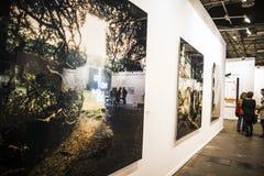 Photography.Begin 2014 ARCO, het Internationale Eigentijdse Art. Royalty-vrije Stock Fotografie