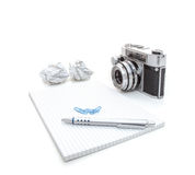 Photography blog concept Stock Photography