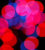 Photography of bokeh. As background Royalty Free Stock Image
