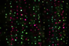 Bokeh pink, green and blue. stock illustration