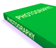 Photography Book Shows Take Pictures Or Photograph Royalty Free Stock Photography
