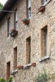 Building at San Gimignano, Italy royalty free stock photos