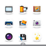 Photography buttons...series no.7 Royalty Free Stock Photo