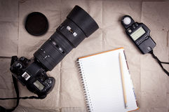 Photography Camera Background Stock Photography