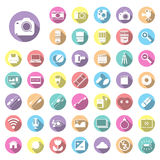 Photography camera icons Stock Photo
